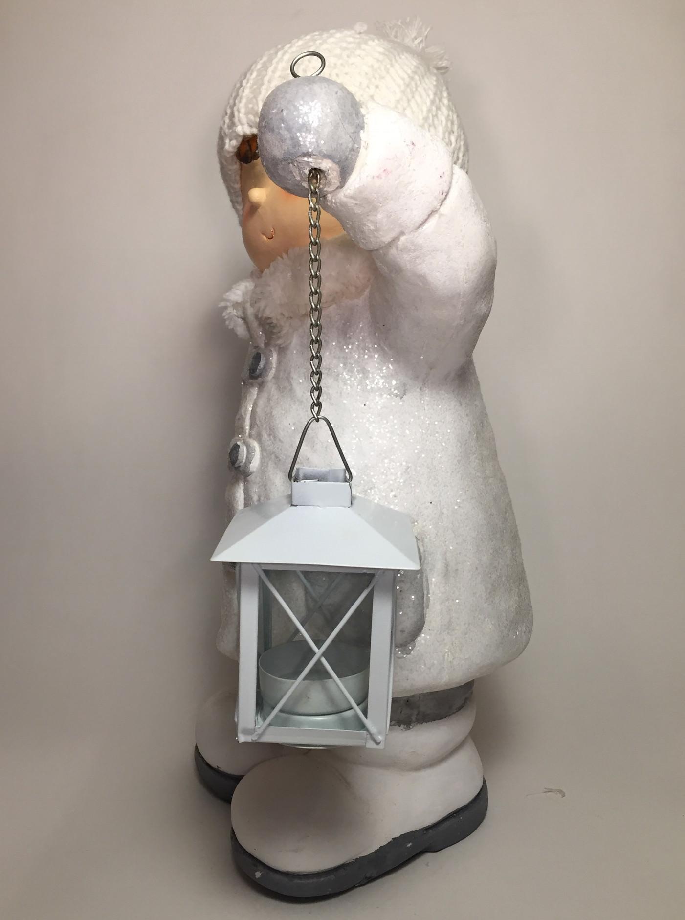 deko winterkinder mit laterne winterfigur dekofigur goldbach 38cm wei magnesia. Black Bedroom Furniture Sets. Home Design Ideas