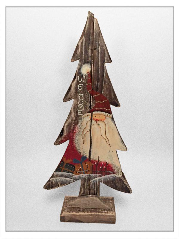 Deko Baum Weihnachtsmann
