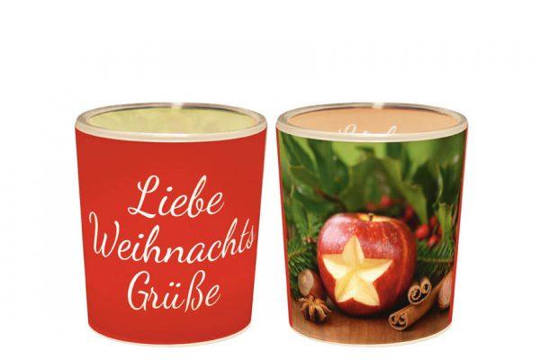 """Ein Licht für Dich """"Liebe Weihnachtsgrüße"""""""
