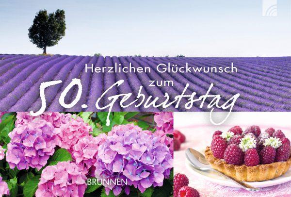"""Gutscheinbuch """"Herzlichen Glückwunsch zum 50. Geburtstag"""""""
