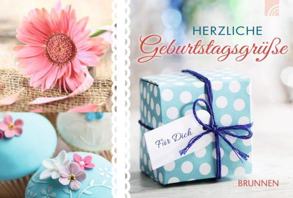 """Gutscheinbuch """"Herzliche Geburtstagsgrüße"""""""