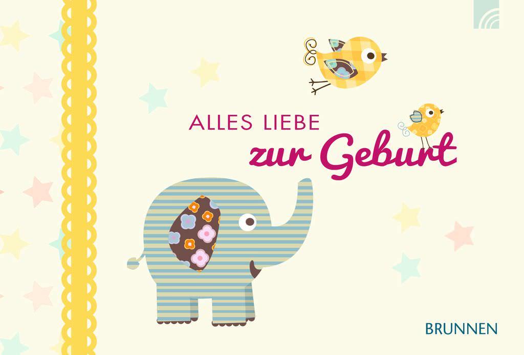 Gutscheinbuch Alles Liebe Zur Geburt Stielwerkstatt