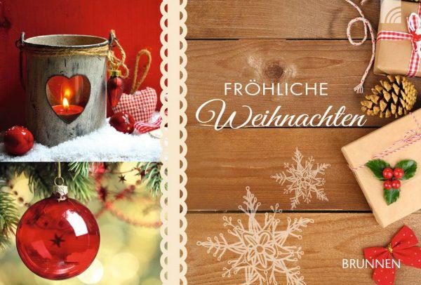 """Gutscheinbuch """"Fröhliche Weihnachten"""""""