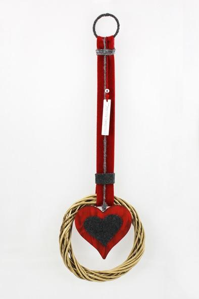 Wanddeko Türhänger KranzWanddeko Türhänger Kranz Herz