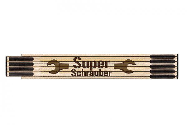"""Zollstock für Dich """"Superschrauber"""""""