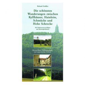Wanderführer Kyffhäuser mit Radtourvorschlägen aus dem wunderschönen Thüringer Land. Ideal zum Wandern, Radfahren und um Strecken planen zu können.