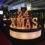 Christmasworld LED-Leuchtfigur 24 XMas Schriftzug