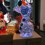 hristmasworld LED-Leuchtfigur Olaf aus Frozen, Micky Maus & Minnie Maus