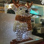 Christmasworld LED-Leuchtfigur Rentier