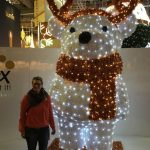 Christmasworld LED-Leuchtfigur Rentier mit mir, Carolin.
