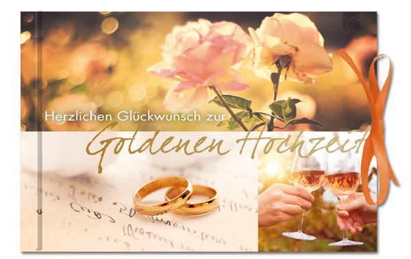 Gutscheinbuch Herzlichen Gluckwunsch Zur Goldenen Hochzeit Brunnen