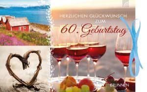 Gutscheinbuch Herzlichen Glückwunsch zum 60. Geburtstag | Brunnen Verlag