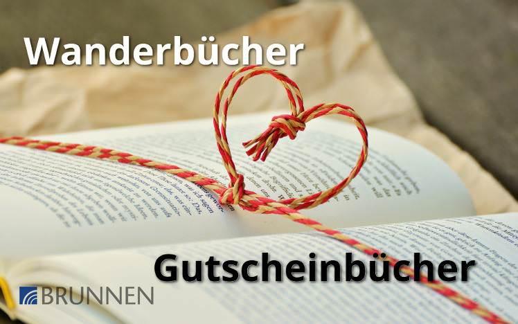 Bücher Gutscheinbücher vom Brunnen-Verlag & Wanderbücher von Roland Geißler