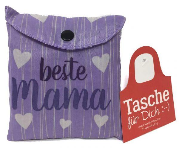 Tasche für Dich Beste Mama | Schultertasche von Geschenk für Dich | LaVida | aus Polyester