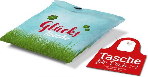 Tasche für Dich Glückstasche | Schultertasche von Geschenk für Dich | LaVida | aus Polyester