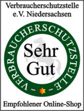 Gütesiegel der Verbraucherschutzstelle e.V. Niedersachsen