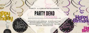 Party Deko für jedes Fest