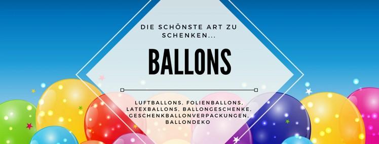 Ballons für jeden Anlass! Preiswert & Schnell. Jetzt zuschlagen und Kaufen