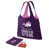 Tasche für Dich Magische Einhorntasche ist ideal für Einkäufe / Shoppingtour. Zusammengefaltet schnell verstaut & beim Shopping ein echter Hingucker.