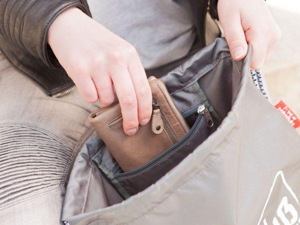 La Vida Turnbeutel Geschenk für Dich :-). Auch verwendbar als Rucksack, Sporttasche, Sportbeutel Gymbag oder einfach nur als Beutel mit Innentasche.